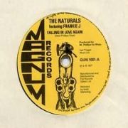 FALLING IN LOVE AGAIN / FALLING IN DUB AGAIN. Artist: The Naturals  Frankie J. Label: Magnum Records